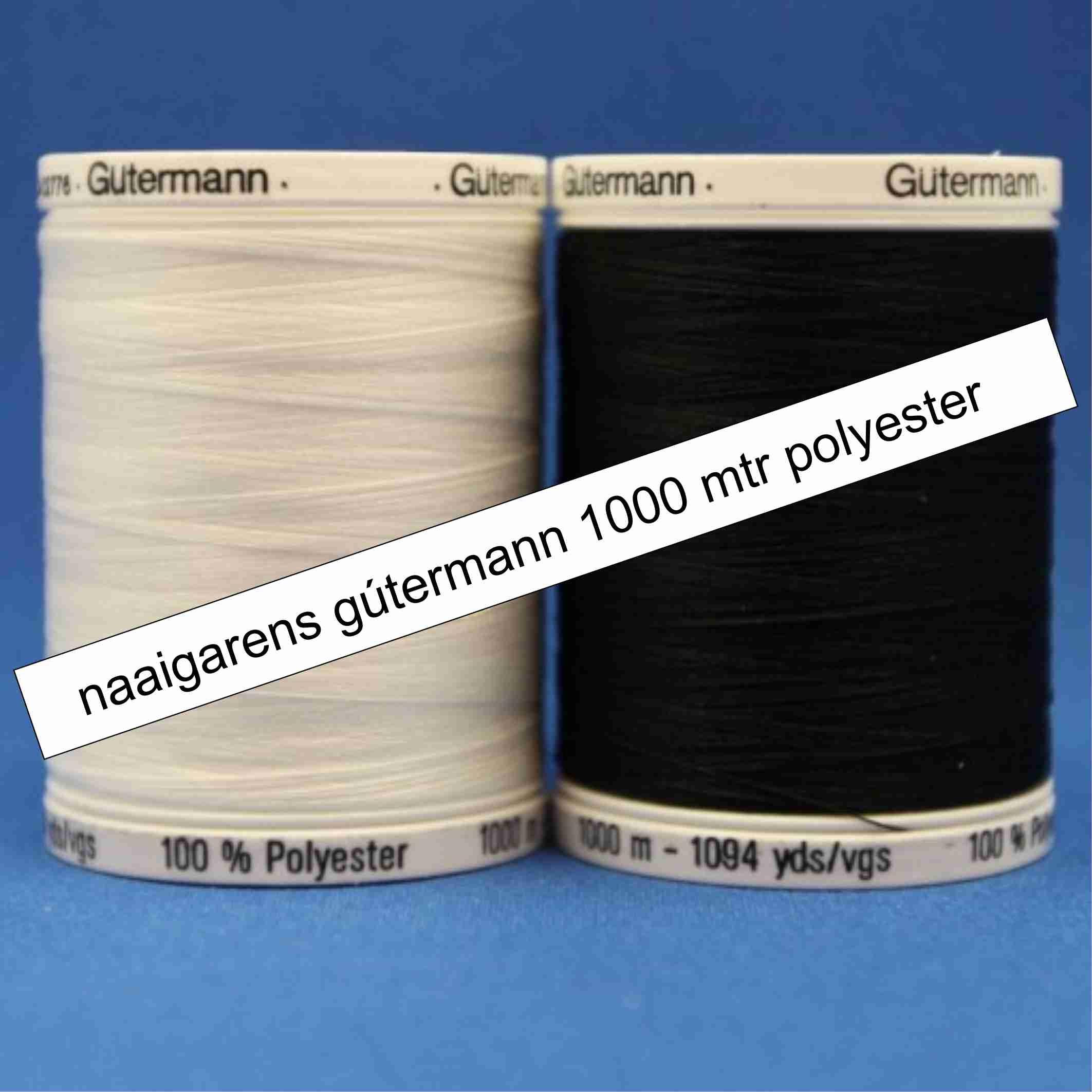 Naaigaren Gütermann 1000 meter polyester 000