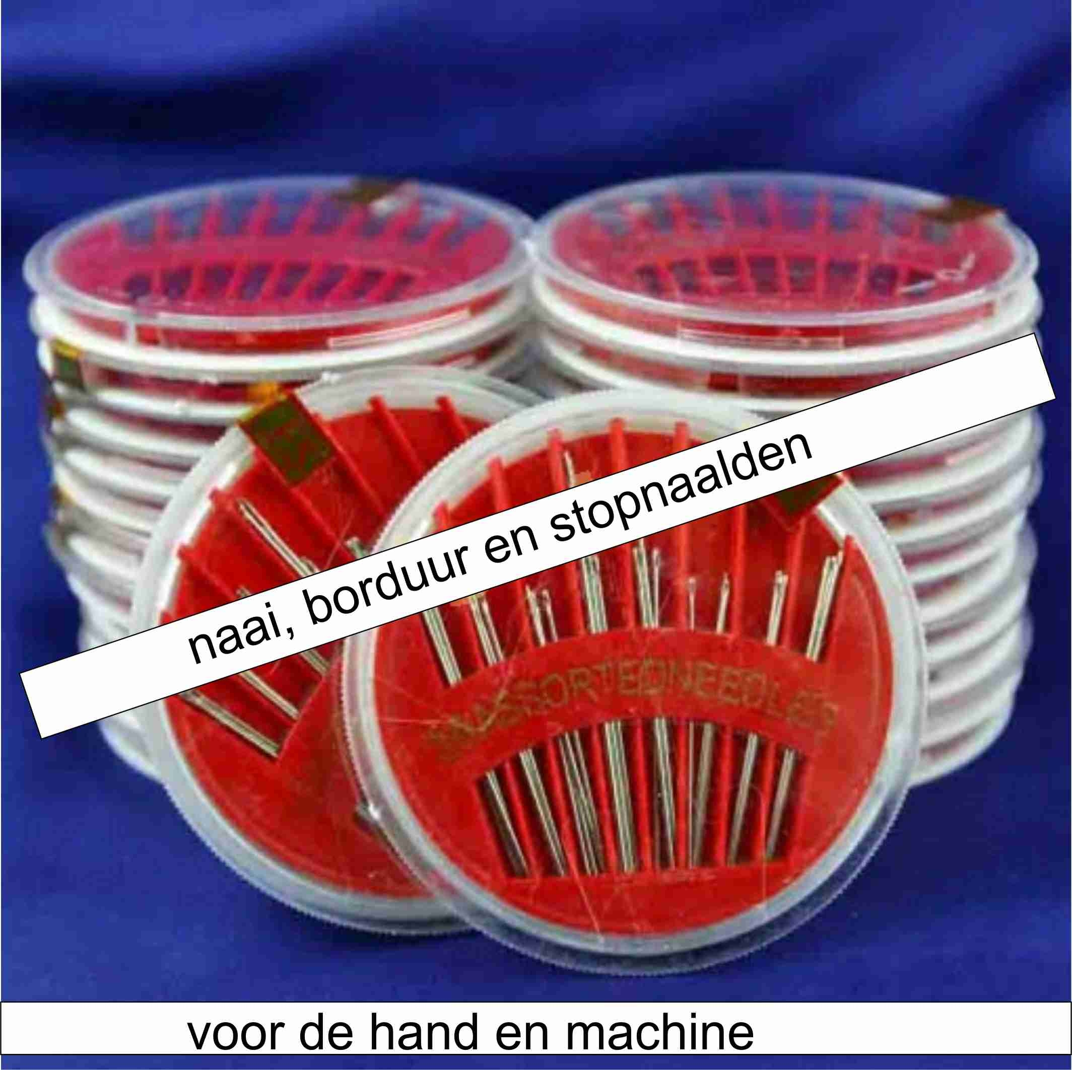 hand en machine naalden